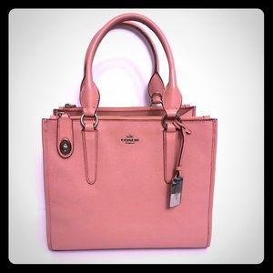 Pink Coach Satchel